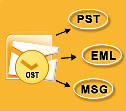 Restore OST File from Outlook