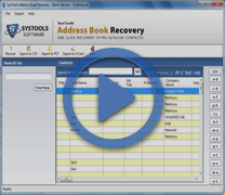 2013 Microsoft Outlook Contacts Recovery